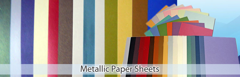 Metalic Paper Sheets